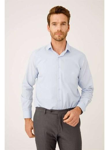 IGS Klasik Gömlek Mavi